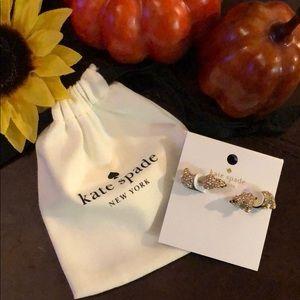 🎉 NEW kate spade Polar Bear Earrings